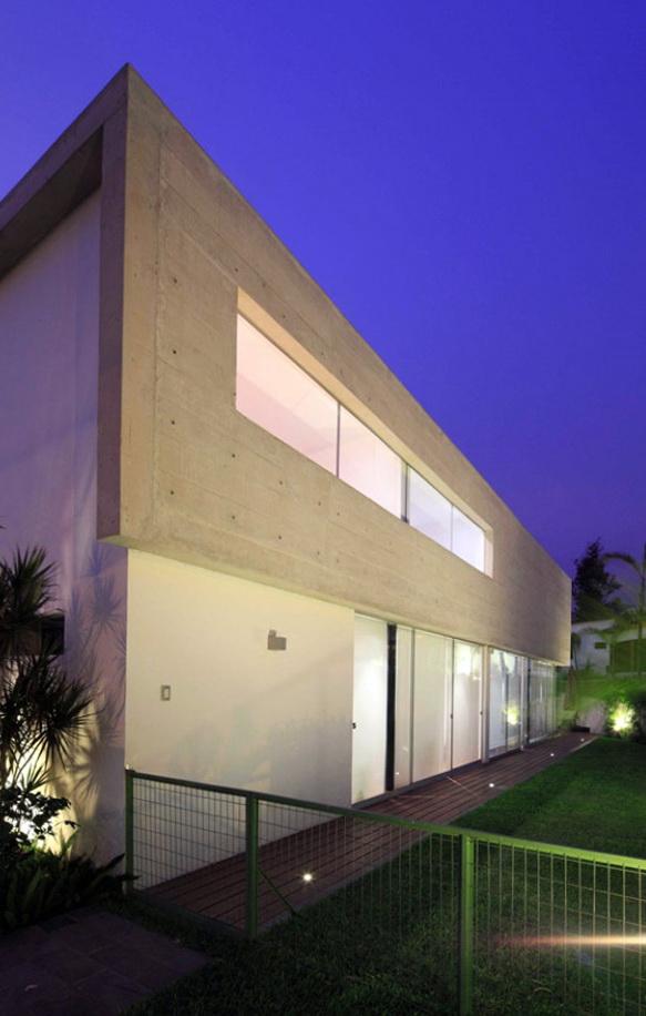 La Planicie By Doblado   ELEGANT HOME IN LA PLANICIE BY DOBLADO ARQUITECTOS 2 elegant home in la planicie by doblado arquitectos