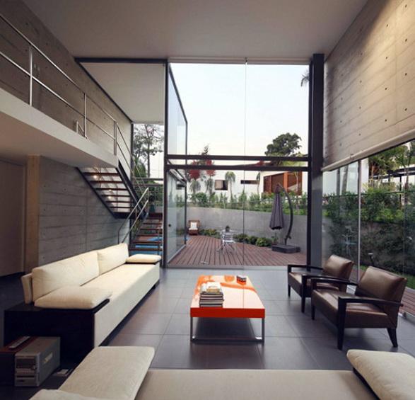 La Planicie By Doblado   ELEGANT HOME IN LA PLANICIE BY DOBLADO ARQUITECTOS 3 elegant home in la planicie by doblado arquitectos