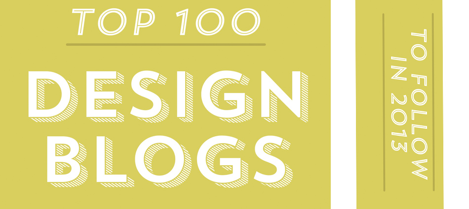 Design Blogs To Follow In 2013
