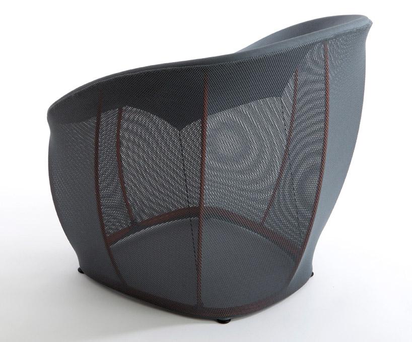 hubertClassicon04  Furniture on a Diet: Ripple table and Talma Chair by Benjamin Hubert hubertClassicon04