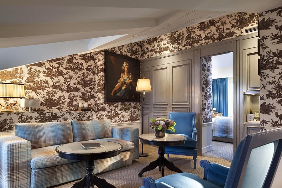 hotel-Hotel-La-Maison-Favart-21  Luxury Hotel Interiors with an 18th Century Twist hotel Hotel La Maison Favart 21