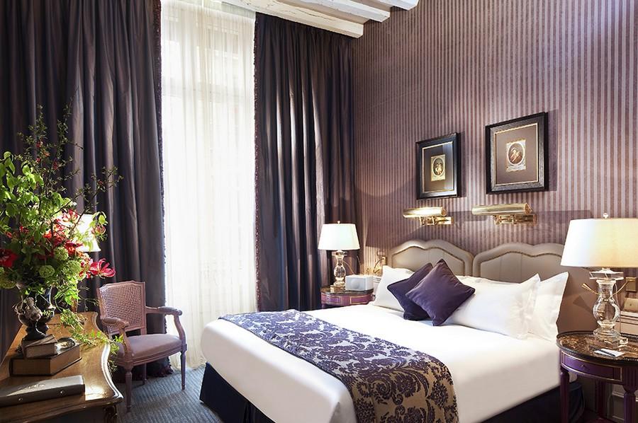 hotel-Hotel-La-Maison-Favart-9  Luxury Hotel Interiors with an 18th Century Twist hotel Hotel La Maison Favart 9