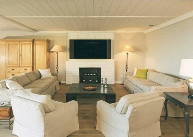 Leonardo-DiCaprio-Malibu-Beach-Home-indoor-living-room