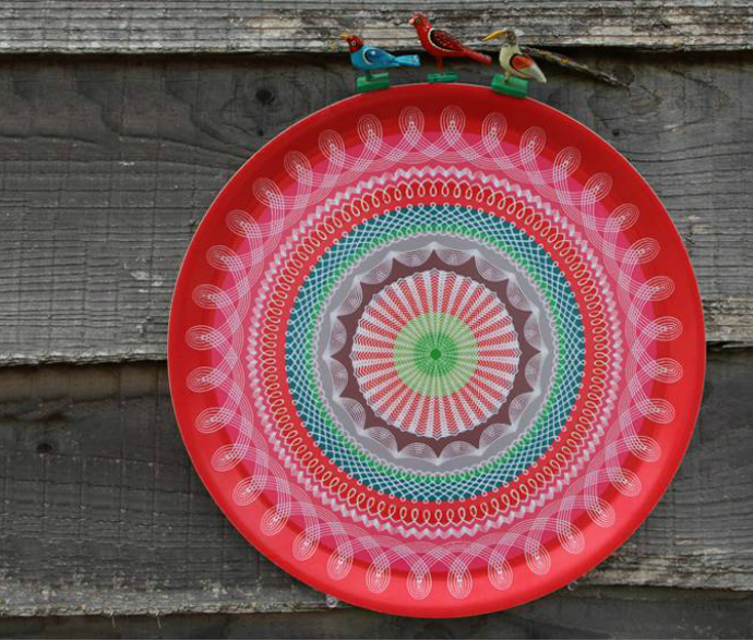 gretel home red tray  10 MUST-FOLLOW TRENDS FOR YOUR HOME gretel home red tray
