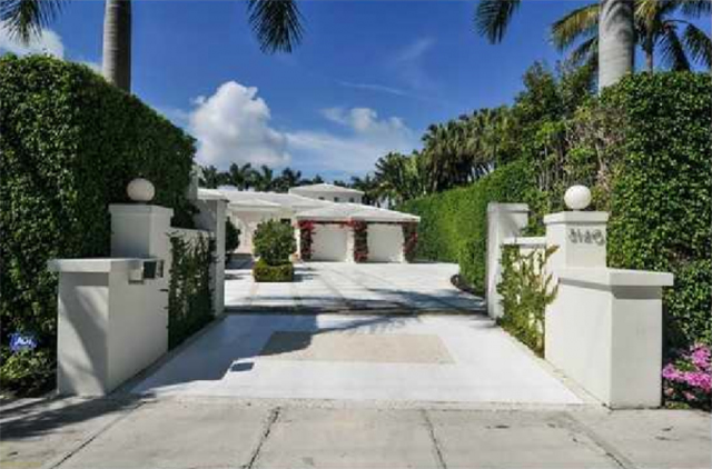 shakira luxury mansion entrance  Shakira's Luxury Mansion in Miami Beach shakira luxury mansion entrance