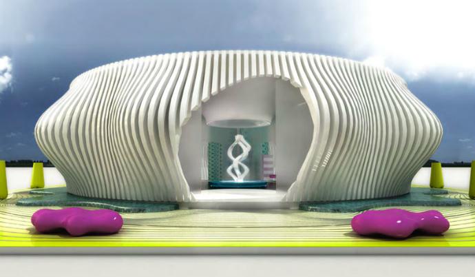 kombhouse01  5 Stunning Futuristic House Designs  kombhouse01