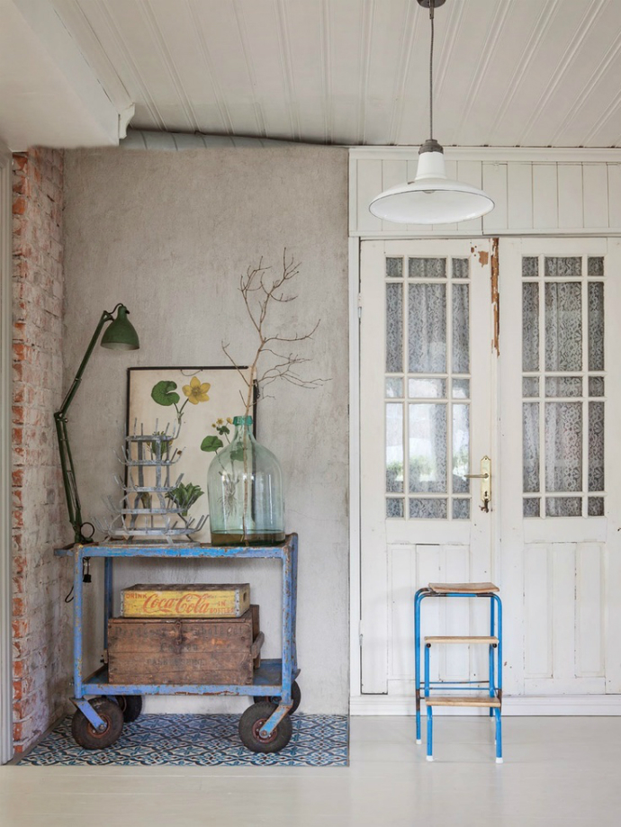 shabby chic trend_vintage  Interior Design Trends: Shabby Chic Style shabby chic trend vintage