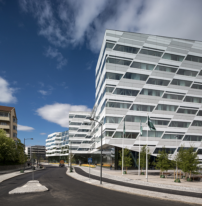 swedbank top building3  One of The Best Buildings Unveiled in 2014 swedbank top building3