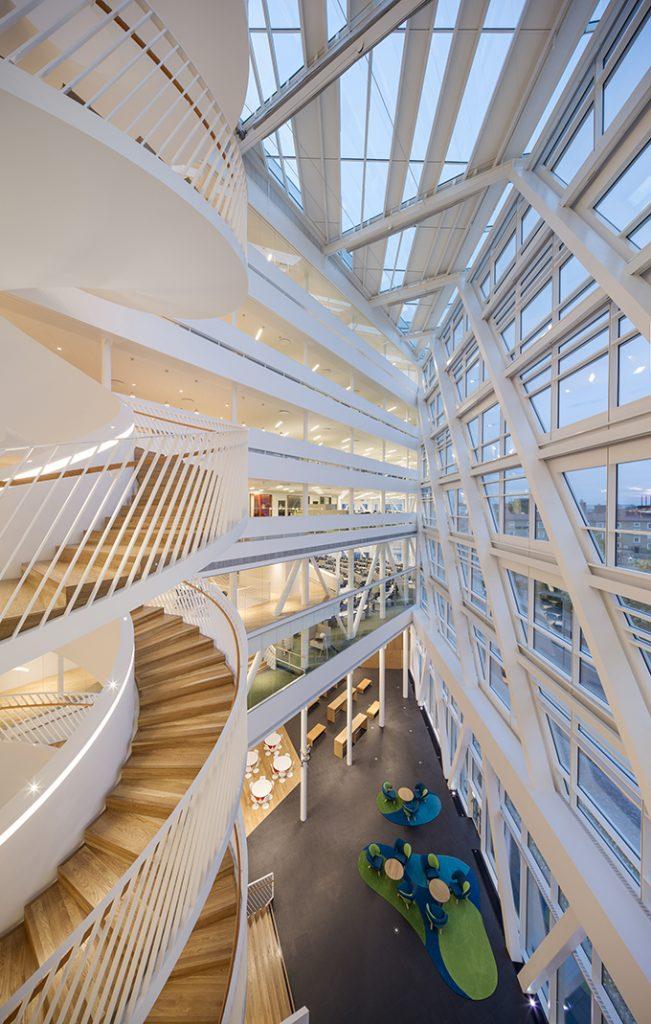 swedbank top building7  One of The Best Buildings Unveiled in 2014 swedbank top building7