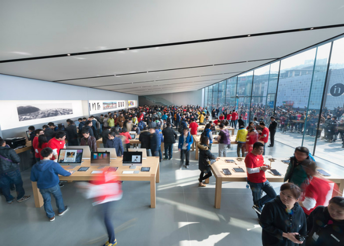 New-Apple-Store-in-China-by-Foster + Partners-7  New Apple Store in China by Foster + Partners New Apple Store in China by Foster Partners 7