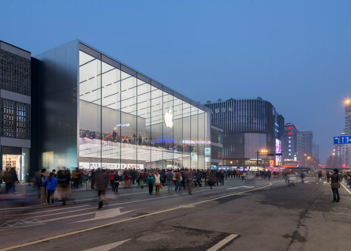 New-Apple-Store-in-China-by-Foster + Partners-8  New Apple Store in China by Foster + Partners New Apple Store in China by Foster Partners 8